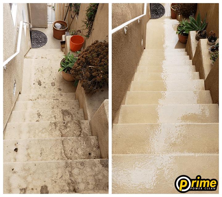 pressure-washing-los-angeles-stairs